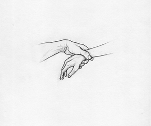 hands, art, and drawing image
