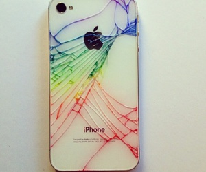colorful, iphone, and phone image