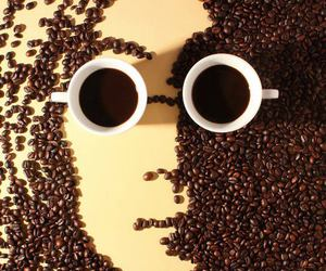 coffee, john lennon, and art image