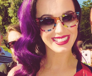 katy perry, beautiful, and purple image