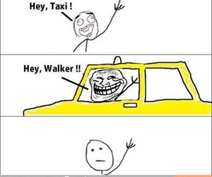 funny, taxi, and lol image