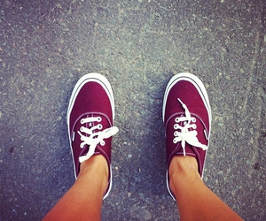 vans and love the color image