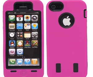 cheap iphone 5 cases and magenta & black image