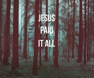 jesus, god, and paid image