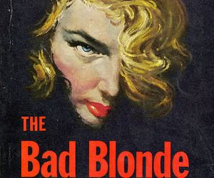 1956, blonde, and art image