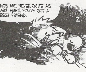 calvin and hobbes and friends image
