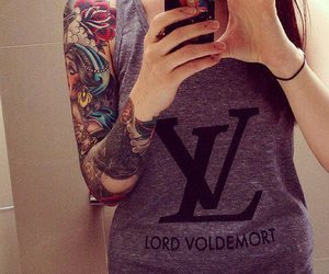 tattoo, lord voldemort, and voldemort image