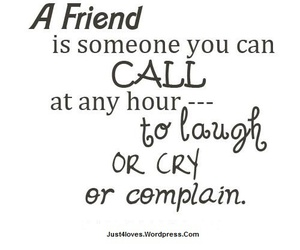 friends, cry, and quote image