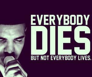 Drake, life, and quote image