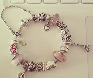 bracelet, jewellery, and pandorabracelet image