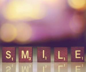 photography, scrabble, and smile image