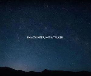 quote, thinker, and talker image