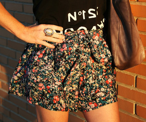 floral, nature, and skirt image