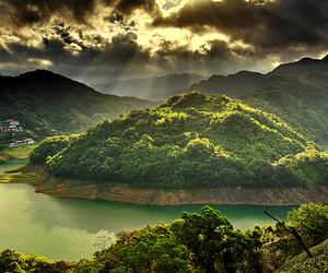 green, beautiful, and Island image