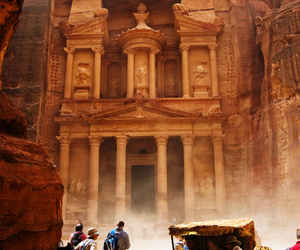 jordan, petra, and photography image