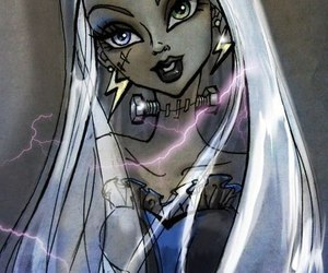 art, doll, and monster high image