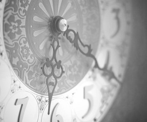 black and white and time image