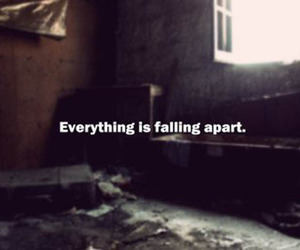 apart, everything, and falling image