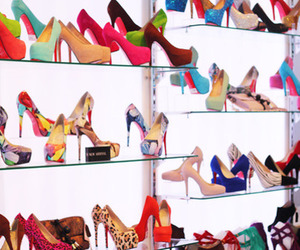 color, girl, and shoes image