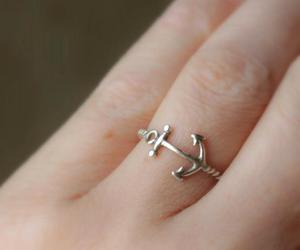 ring, anchor, and fashion image
