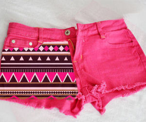 pink, fashion, and shorts image