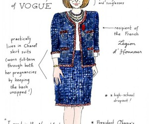 fashion, Anna Wintour, and vogue image