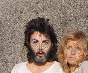 linda mccartney and Paul McCartney image