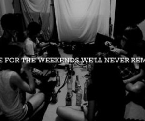 weekend, party, and quote image