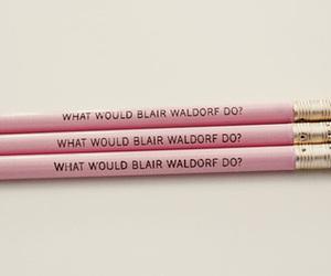 blair, waldorf, and want image