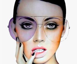 art, glasses, and illustration image