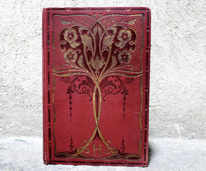 binding, book, and leather image