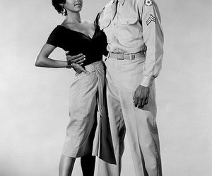 dorothy dandridge, harry belafonte, and old hollywood image