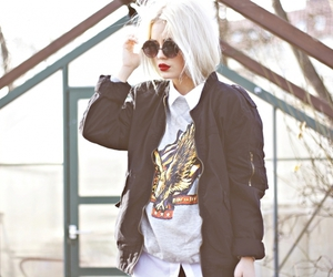 hipster, fashion, and glasses image