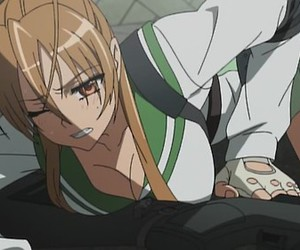 anime and highschool of the dead image