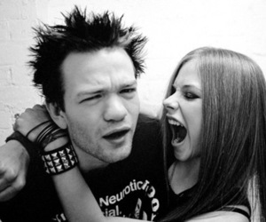 Avril Lavigne and deryck whibley image