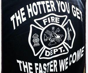 fire, fireman, and Firemen image