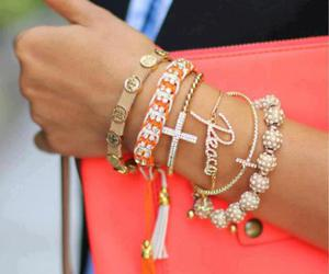 fashion, bracelet, and peace image