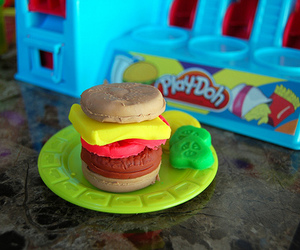 photography and play doh image