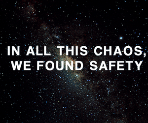 chaos, safety, and quote image