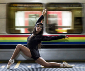 ballet and subway image