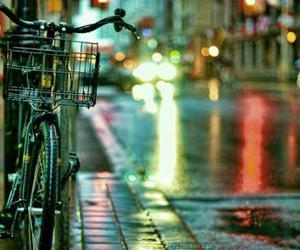 street, bicycle, and bike image