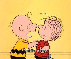 love and charlie brown image