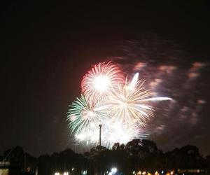beautiful, california, and fireworks image