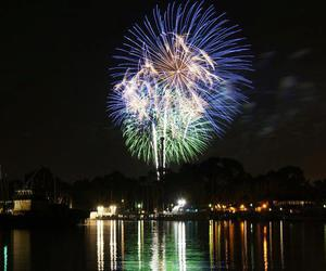 fireworks, beautiful, and night image