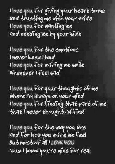 Love Poems For Him Iii Love Quotes And Sayings