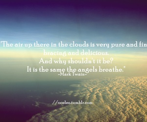 clouds, photography, and quotes image