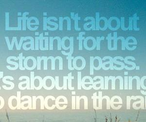 dance, life, and quotes image