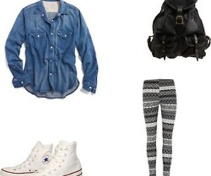 black, Polyvore, and style image