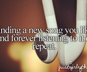 music, song, and repeat image