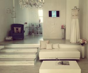 room, white, and style image